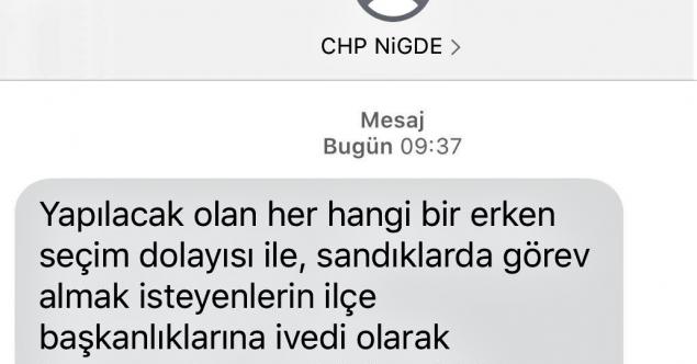 CHP İŞİ ŞANSA BIRAKMAYACAK