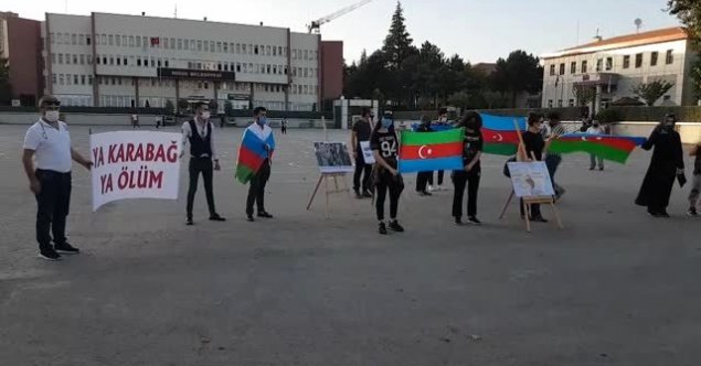NİĞDE DE ERMENİSTANIN AZERBAYCAN SALDIRISINA KINAMA